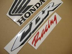 Honda CBR 600RR 2008 silver adhesives set