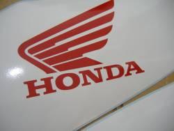 Honda 600RR 2007 blue labels graphics