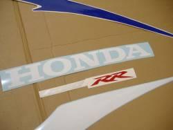 Honda CBR 600RR 2007 blue decals kit