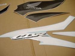 Honda CBR 600RR 2007 grey stickers kit
