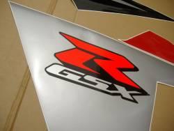 Suzuki GSX-R 600 2005 red adhesives set