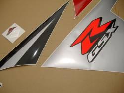 Suzuki GSX-R 600 K5 red stickers set