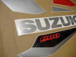 Suzuki GSXR 600 K5 red stickers