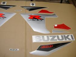 Suzuki GSX-R 600 2005 red decals kit