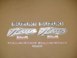 Suzuki TL 1000S 1997 black stickers set