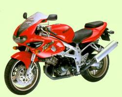 Suzuki TL 1000S 1998 red adhesives set