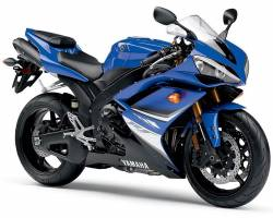 Yamaha YZF R1 2008 RN19 blue US stickers kit