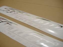 Honda shadow spirit chrome silver gas tank decals kit set