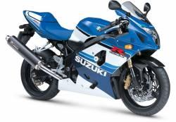 Suzuki GSX-R 600 2005 anniversary decals kit