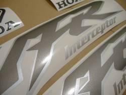 Honda VFR 800i 1999 complete stickers