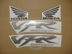 Honda VFR 800i 1999 green US adhesives set