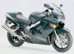 Honda 800i 1999 RC46 green US logo graphics