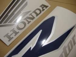 Honda VFR 800i 1999 blue US stickers kit
