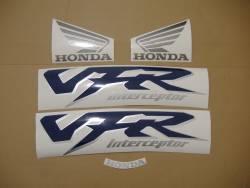 Honda VFR 800i 1999 complete sticker kit