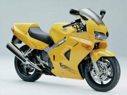 Honda 800i 1999 RC46 yellow US full decals kit