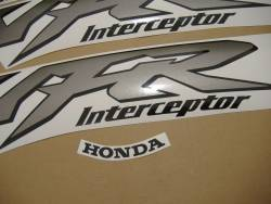 Honda 800i 1999 yellow US labels graphics