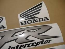 Honda VFR 800i 1999 yellow US adhesives set