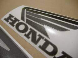 Honda 800i 1998 silver US stickers set