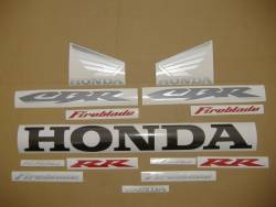 Honda 1000RR 2004 black stickers set