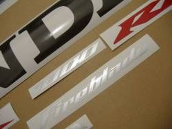 Honda CBR 1000RR 2004 black stickers kit