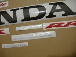 Honda 1000RR 2004 Fireblade full decals kit