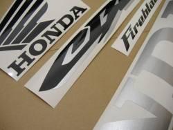 Honda 1000RR 2004 Fireblade logo graphics