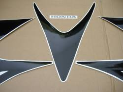 Honda 1000RR 2007 Fireblade red logo graphics