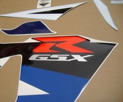 Suzuki GSXR 750 K4 white full decals kit