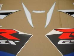Suzuki GSX-R 750 2004 white adhesives set