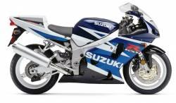 Suzuki GSX-R 750 2003 blue decals kit