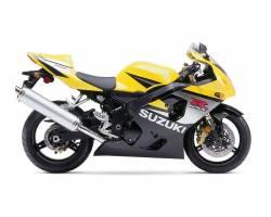 Suzuki GSX-R 750 2005 yellow decals kit