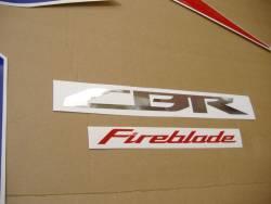 Honda 1000RR 2009 Fireblade logo graphics