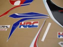 Honda 1000RR 2009 SC59 HRC decal set