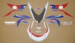Honda 1000RR 2009 HRC labels graphics