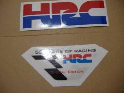 Honda CBR 1000RR 2009 SC59 HRC decals kit