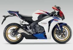 Honda 1000RR 2009 HRC reproduction decals