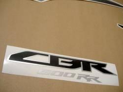 Honda CBR 600RR 2009 black stickers