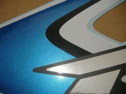 Suzuki 600 2008 white complete sticker kit
