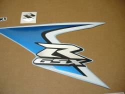 Suzuki GSX-R 600 K8 white logo graphics