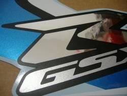 Suzuki GSX-R 600 2008 white adhesives set