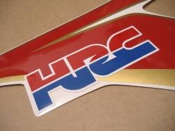 Honda 1000RR Fireblade 2011 HRC restoration decals set