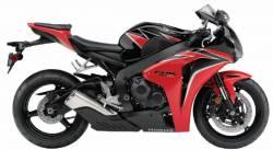 Honda 1000RR 2010 SC59 red decal set