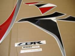 Honda cbr 1000rr 2010 sc59 I red decals kit