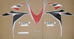 Honda CBR 1000RR 2010 red stickers kit