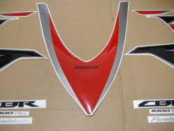 Honda CBR 1000RR 2010 SC59 red decals kit
