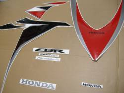 Honda 1000RR 2010 SC59 red stickers set