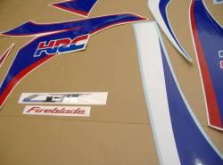 Honda CBR 1000RR 2010 Fireblade HRC stickers