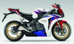 Honda 1000RR 2010 SC59 HRC labels graphics