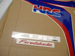Honda 1000RR 2010 Fireblade full decals kit