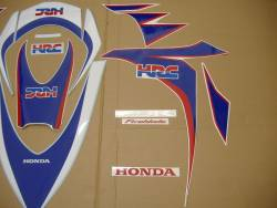 Honda 1000RR 2010 SC59 HRC decal set